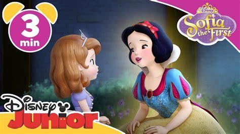 Plastisin Sofia And Snow White magical moment sofia the snow white disney junior uk