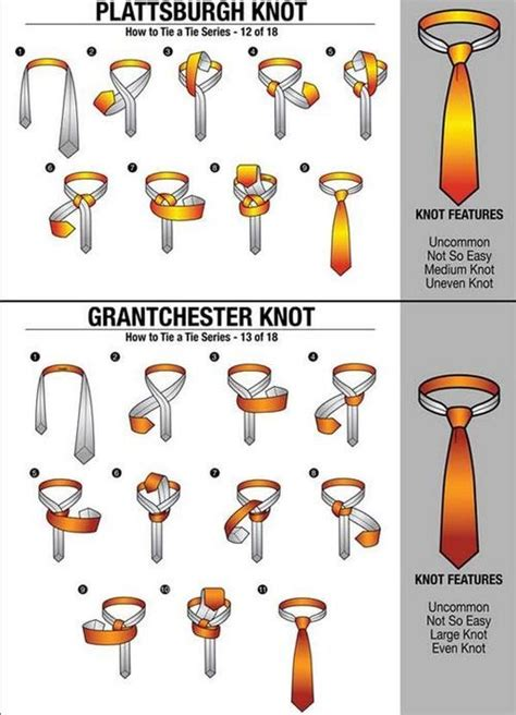 How To Make Different Knots - how to tie different tie knots fashion ideas