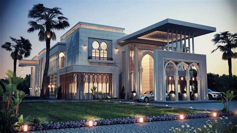 home design 3d classic heteen palace type a on behance arabic exterior design