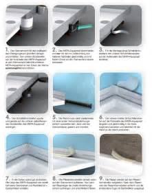 abdichtung badewanne mepa wannenabdichtband set aquaproof typ ii 180041