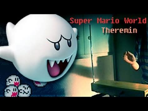 super mario world ghost house music super mario world ghost house theremin cover youtube