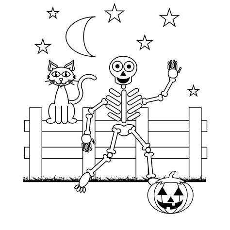 coloring pages halloween skeleton skeleton coloring pages halloween skeleton coloring pages