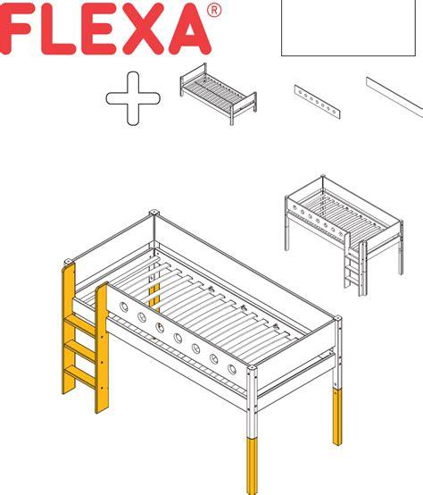 hoogslaper flexa handleiding flexa hoogslaper 80 17305 40 95 pagina 1 van