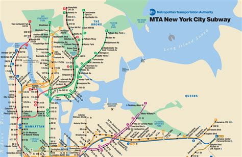 subway map in nyc new york mta subway maps manhattan real estate