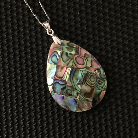 shell pendants jewelry abalone necklace shell jewelry of pearl 18 by