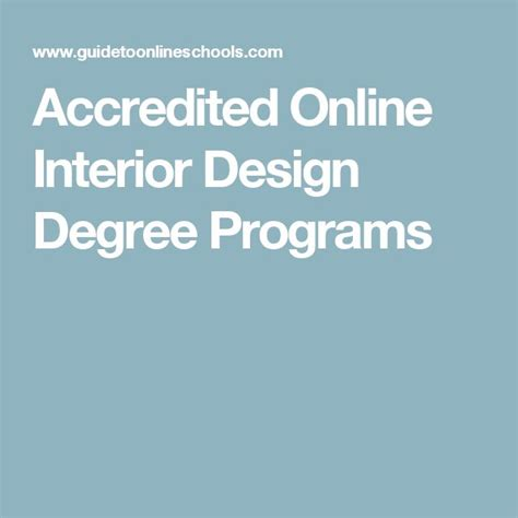Accredited Online Interior Design Classes Best 25 Interior Design Programs Ideas On Pinterest