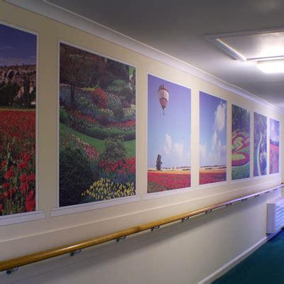 nostalgic wall coverings recogneyes care home