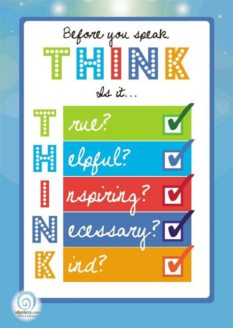 printable think poster think before you speak poster edgalaxy cool stuff for