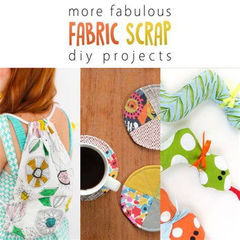 diy fabric crafts more fabulous fabric scrap diy projects the cottage market