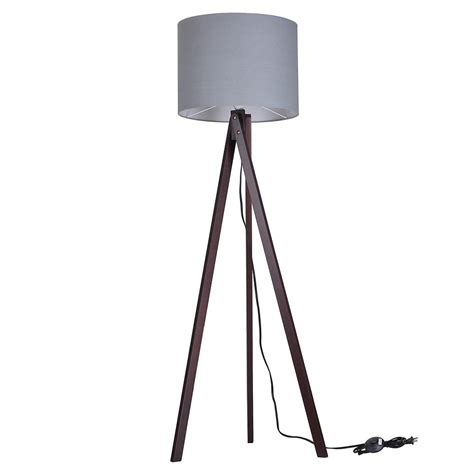 modern tripod table l 57 quot deluxe modern wood tripod table reading floor l