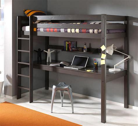doppel hochbett für erwachsene wohnzimmer farben braun