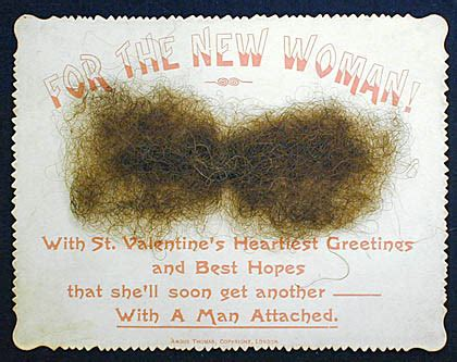 Hair Masters Gift Card - is this the worst valentine s day card in history moustache horror revealed in york