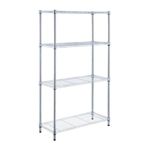 hdx 4 shelf 36 in w x 14 in l x 54 in h storage unit