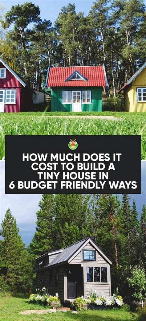 the answer to how much does it cost to build a tiny house