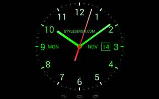 analog clock live wallpaper 7 android apps on play