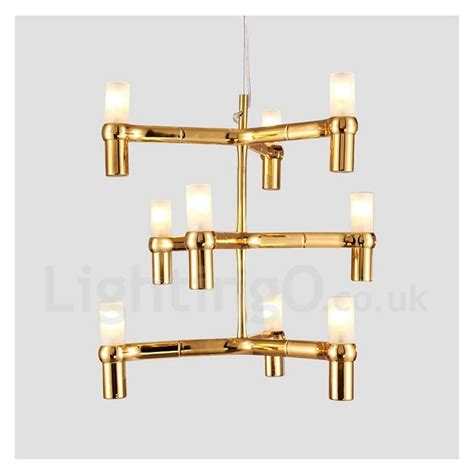 9 light 3 tier modern contemporary chandelier l for