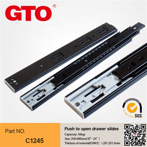 Push To Open Soft Drawer Slides by Push To Open Drawer Slides Soft Hinges Bearing Drawer Slides Undermount Drawer Slides