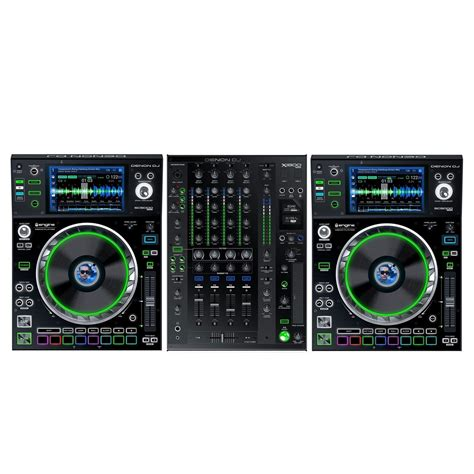 dj prime denon dj prime series bundle 2 x sc5000 players x1800
