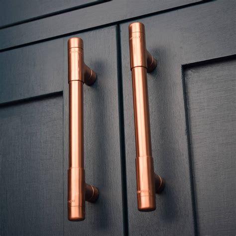 copper kitchen cabinet hardware copper pull t bar by proper copper design
