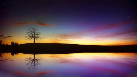 sunset  autumn desktop  wallpapers hd