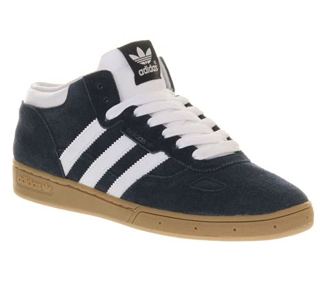 Adidas Viero Blue Black adidas ciero mid collegiate navy white gum in blue for lyst