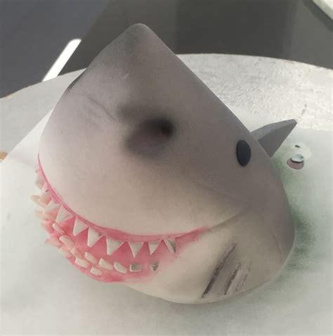 baby shark fondant shark cake fondant and cake toppers on pinterest