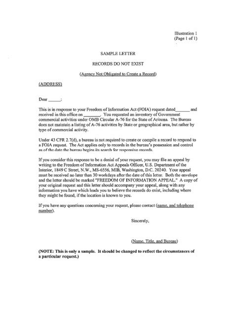 foia request template freedom of information act request letter template uk