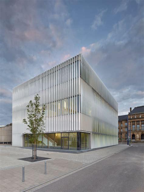 Architekt Ulm by Wandelbare Fassade Sporthalle H4a Architekten Ulm