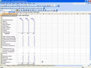 budget sle template free marketing budget template excel roi calculator