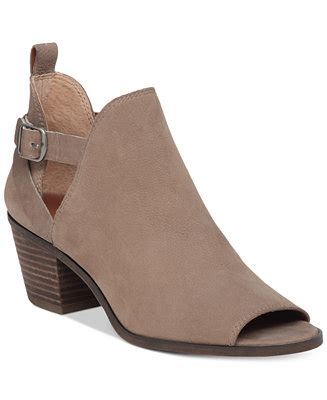 macy s lucky brand boots lucky brand s banu cutout booties boots shoes