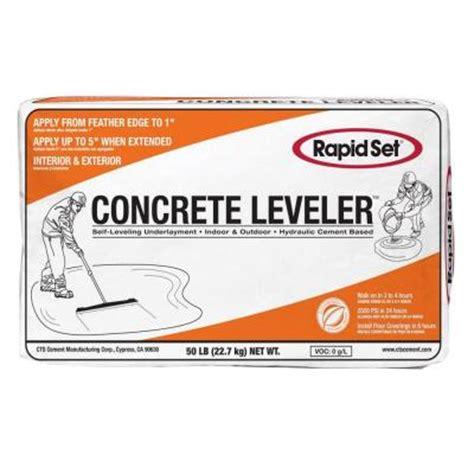 rapid set 50 lb cts concrete leveler 186010050 the home
