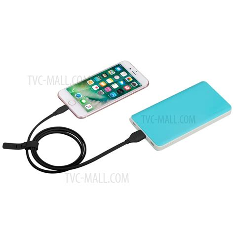 Moganics Kabel Data Flat Charger Lightning Iphone Certified momax 1m mfi certified lightning 8 pin data charge flat cable for iphone ipod black tvc