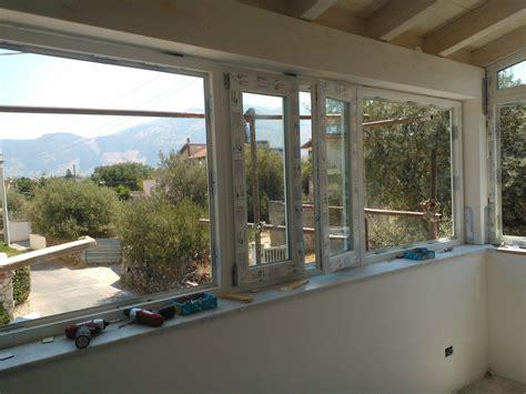 verande in pvc veranda in pvc con vetri a doppia sicilinfissi snc
