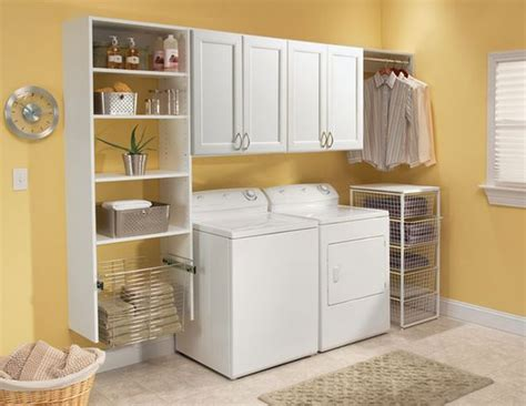 Organizing Laundry Room Cabinets Laundry Room Shelves Keep Everything Organized And Within Reach