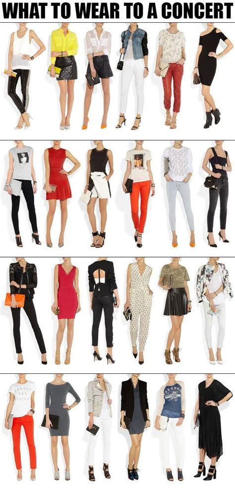 what to wear to house music concert what to wear to a concert fashion pinterest