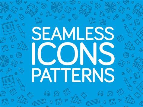 pattern maker jobs seattle seamless icons patterns by zlatko najdenovski dribbble