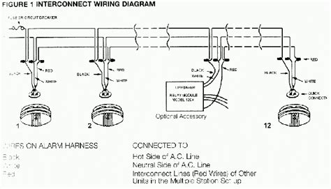 wiring diagram for mains smoke alarms how to wire a smoke