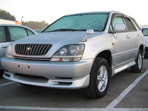 toyota harrier 2000 2000 toyota harrier pictures 2200cc gasoline automatic