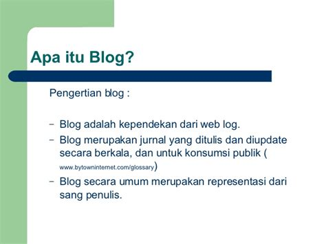 apa itu slide layout apa itu blog