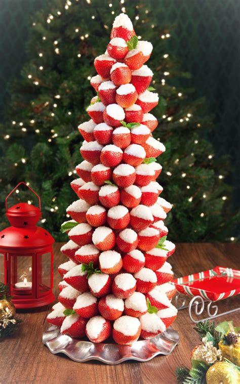 strawberry christmas tree christmas ideas pinterest