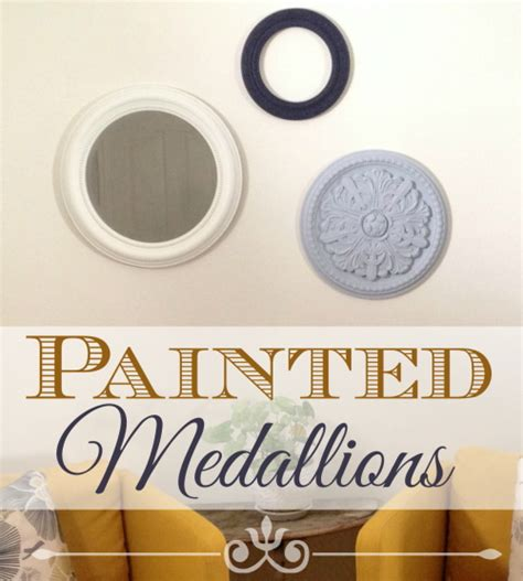 Top Home Decor Stores How To Make Painted Medallions Wall Decor The Crafty