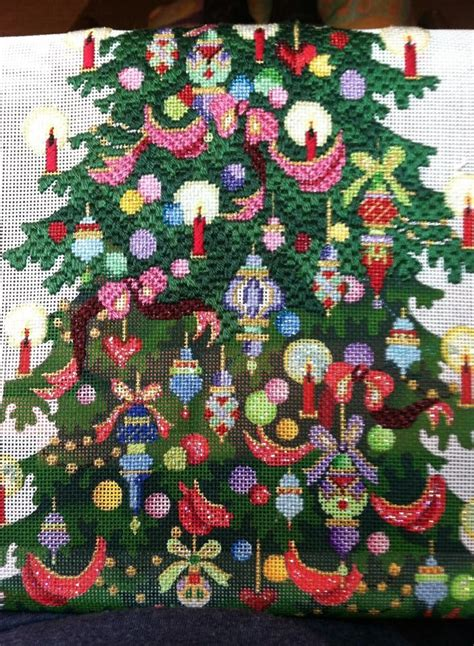 christmas tree needlepoint pattern 69 best images about needlepoint christmas trees on