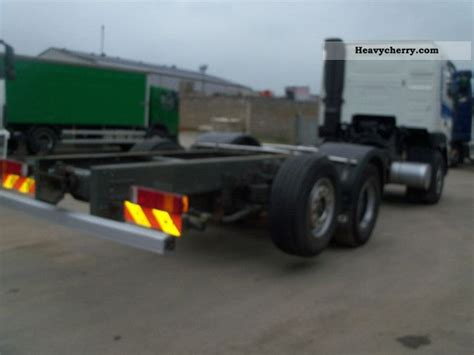 volvo fh  manual steering axle  chassis truck photo  specs