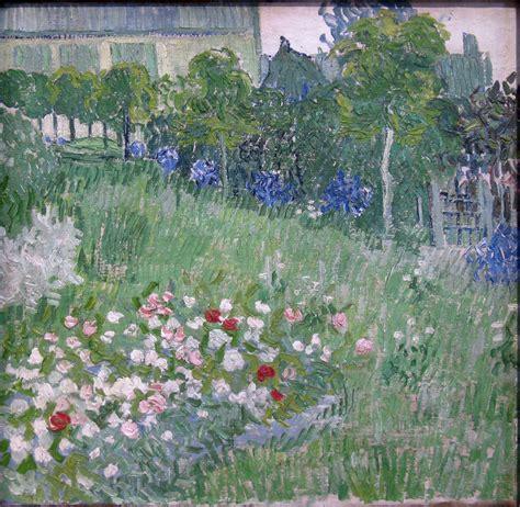 fiori gogh il giardino di daubigny di gogh analisi