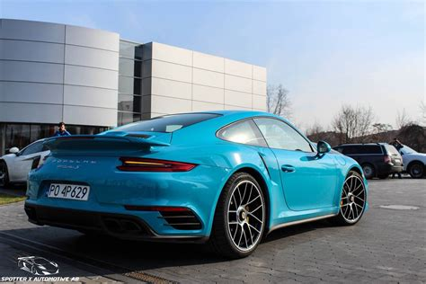 miami blue porsche turbo s skymkz on quot miami blue 2016 porsche 911 turbo s