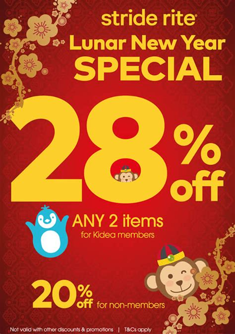 other terms for new year stride rite 20 storewide lunar new year promotion