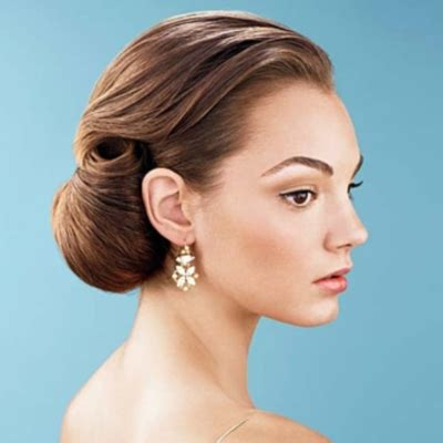 Wedding Hairstyles Buns To The Side by The Bloomin Bridal Hairstyles