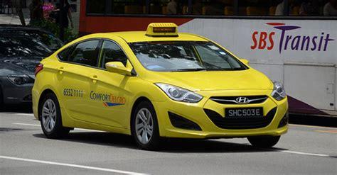 comfort taxi rates taxi flagdown rates creeping up to 4 mark mothership sg