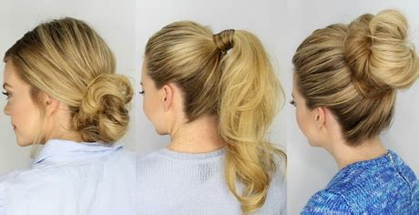 hair styles for after five 5 minute hairstyles