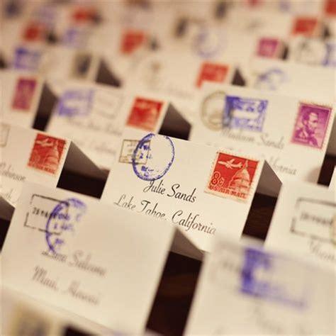 how to make event escort cards three variations kin diy best 25 vintage travel wedding ideas on pinterest